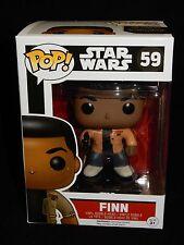 Funko POP! Star Wars The Force Awakens Finn Vinyl Bobblehead Figure #59