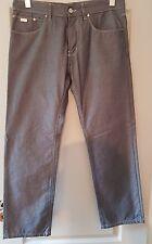 Hugo Boss Black iowa-10 mens jeans trouser - W33 L29 - blue tint