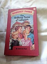 THE BOBBSEY TWINS OF LAKEPORT #1 by LAURA LEE HOPE 2004 HC reissue