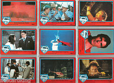 Superman The Movie - Series 2 - Complete Trading Card Set (88) 1978 Topps - NM