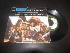 WINGS - LIVE AND LET DIE / I LIE AROUND  APPLE RECORDS 3 C006-05361  LP 7""