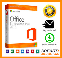 Microsoft Office 2016 Professional Plus KEY | Download Express E-Mailversand NEU