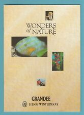 EMPTY ALBUM  -  HENRI  WINTERMANS  -  WONDERS  OF  NATURE  -  1992