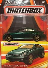 MATCHBOX Best Of 2017 Mercedes Benz CLS 500 Real Riders Rubber Tires NIP DC 1:64