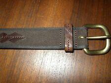 New Men's Trafalgar Italian Leather Belt [$125] NWT Size 36
