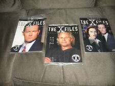 3 The X-Files Official Fan Club Special Collector's Edition Magazines