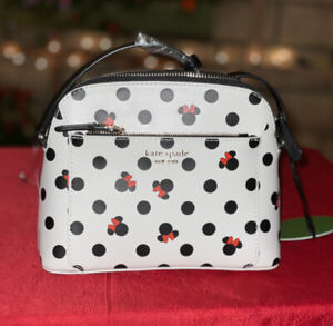 Disney Parks Kate Spade Minnie Mouse Icon Crossbody NWT