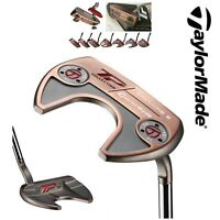 """TAYLORMADE GOLF TOUR PREFERRED TP PATINA ARDMORE 3 PUTTER 34"""" + SUPERSTROKE GRIP"""