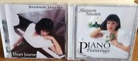Shannon Janssen - Heart Journey and Poamo Paintings (CD lot of 2)