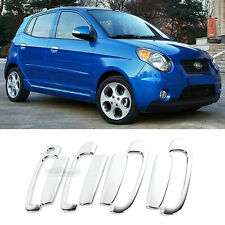 Chrome Door Catch Handle Molding Cover Garnish for KIA 2008-2010 Picanto Morning