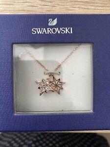 Swarovski necklace Magic Rose Gold Pendent Star Brand New