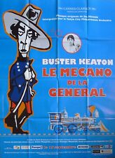 Buster Keaton - The General - Civil War / Train - Reissue Large Movie Poster