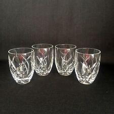 John Rocha Waterford Signature Set Of Four Tumblers/Whiskey Glasses