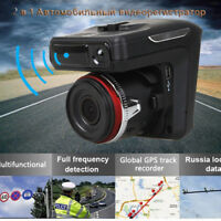 "2in1 HD 1080P Car DVR Video Recorder Dash Cam Radar TFT 2.4"" LCD HD Night Vision"