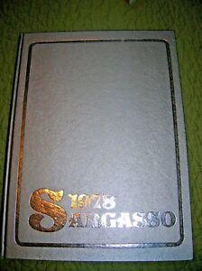 Vintage 1978 Sargasso Kokomo High School Yearbook Indiana