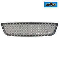 EAG Fits 99-03 Ford F150 Black Grille Rivet Steel Mesh Insert