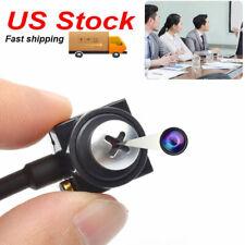 US Mini HD screw Spy Camera Hidden micro CCTV Home Security Pinhole Cam With Mic