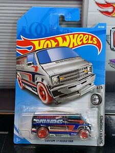 Hot Wheels Custom '77 Dodge Van Super Chromes 4/5