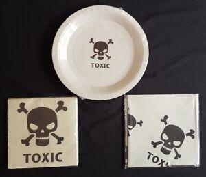 Halloween - Toxic Party Range - Napkins, Tablecloths, Plates (small postage)