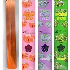 60 Räucherstäbchen + Räucherstäbchenhalter Rose Lavender Jasmine Duft Duftstoff