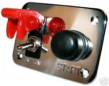 Ignition Switch Panel Push Button Start Starter 12v Car Rally Motorsport 12volt