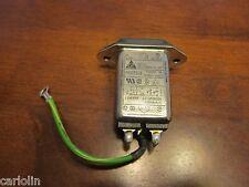 Delta 6 Amp 250V AC Power IEC Inlet EMI Noise Filter  *US* Seller Get It Fast~~