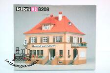 KIBRI 8208 H0 COSTRUZIONE / CASA TAVERNA Gasthof zum Löwen Wirtshaus - NUOVA