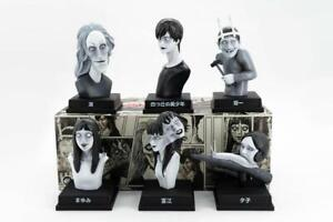 Junji Ito Kaikibako VINYL H10cm Figures Set 6 Pieces