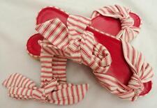 Ralph Lauren Tie Strap Sandals Flat Shoes UK5 38 US8 NEW RRP350GBP