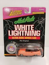 Rare Johnny Lightning Hot Rods Buick Bumongous White Lightning Peach
