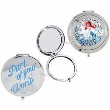 Disney Ariel The Little Mermaid Die-Cut Compact Mirror Part of Your World NEW