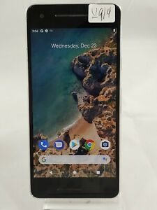 Google Pixel 2 G011A 64GB AT&T T-Mobile GSM Unlocked Smart Cellphone White U914
