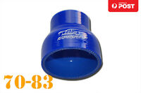 """4 Ply Silicone Straight Reducer Joiner Hose Pipe 70mm - 83mm 2.75"""" 2-3/4"""" 3.25"""""""