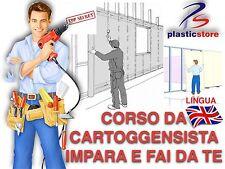 Cartongesso Fai Da Te Corso di cartongessista 2 dvd Bricolage Dvd