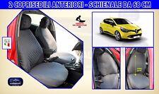 Coprisedili Renault Clio IV 5 porte dal 2012 Fodere auto Schienali copri sedili