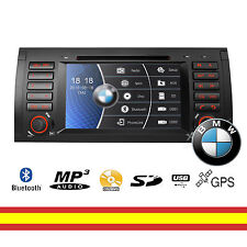 Radio CD DVD para BMW Serie E53 X5 Car Audio GPS Multimedia Bluetooth Mirroring