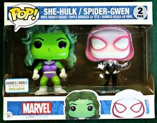 She-Hulk Spider Gwen Marvel Funko Pop 2-Pack - Barnes & Noble Exclusive!