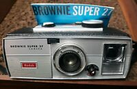 VINTAGE 1960s KODAK BROWNIE SUPER 27 CAMERA (PARTS ONLY)