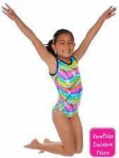 """NEW Snowflake Happy Gymnastic/Dance leotard age 5-6 Years (26"""")"""