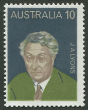 Decimal Issues - 1975 (SG.591a) 10c Prime Minister Joseph Lyons. MUH. BW:694c.