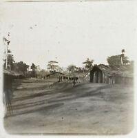 Africa Congo? Foto NE16 Placca Da Lente Stereo Vintage Ca 1910