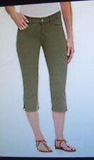NYDJ Not Your Daughter Jeans Hayden crop capri pants Rosemary green 2P 6P 8P 16P