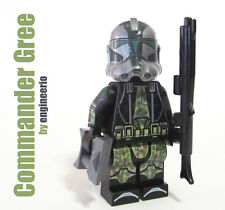 LEGO Custom -- Commander Gree - Star Wars Clone Trooper Minifigure 9492 75043