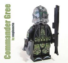 LEGO Custom -- Commander Gree - Star Wars Clone Trooper Minifigure 9492 75043
