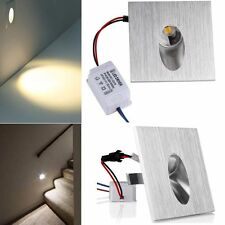 10 Pcs 1W LED Encastrable Mural Lampe Escalier Couloir LED Mur Spot Stair Step