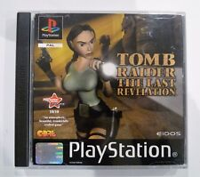 COMPLETO SONY PLAYSTATION PS1 TOMB RAIDER THE LAST REVELATION