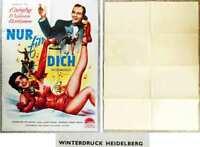 Original Filmplakat BING CROSBY / JANE WYMAN - Nur für Dich  1950´s