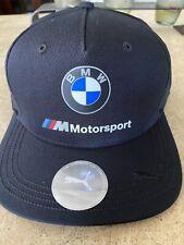 New Original Puma  BMW Motorsport Hat Cap size S/M
