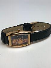 Garfeild Mens Stainless Steel Gold Tone Quartz Watch