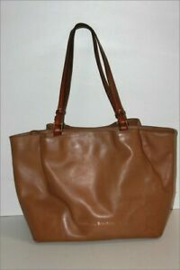 Dooney & Bourke Great Tote Bag Leather Light Brown Very Good Condition